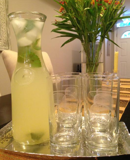 Lemonade on Tray